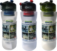 ÖKO H2O Original Bottle 650 ml w/Level-2 Filter