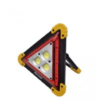 Zartek ZA-840 USB Rechargeable LED Worklight/Warning Triangular